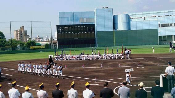 一宮学童軟式野球大会開会式